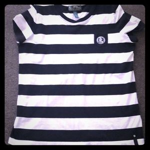 Ralph Lauren Active Black and White T-shirt